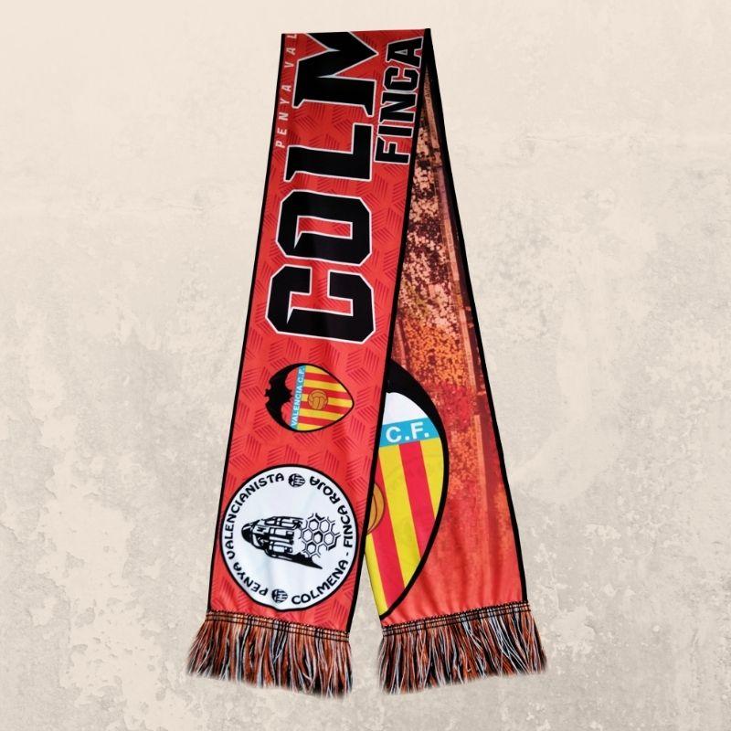 bufanda de futbol personalizada la colmena